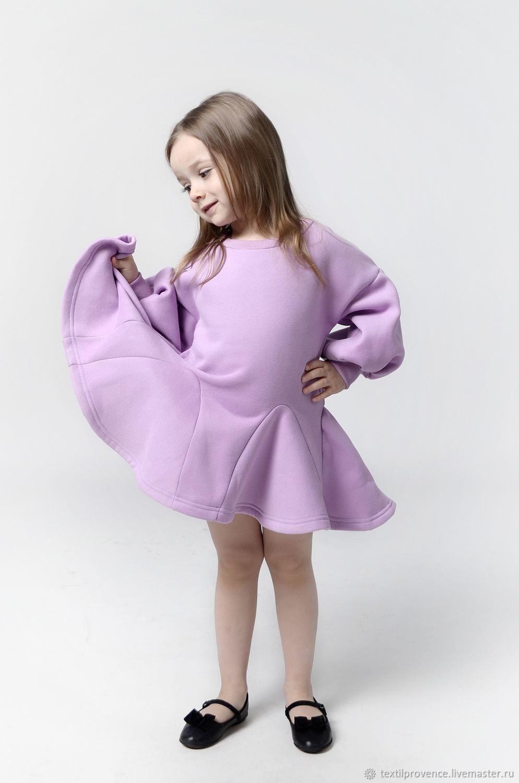 """Платье принцессы """"Monica"""" бледно-сиреневый"""