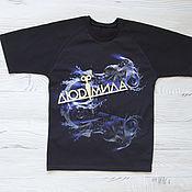 Одежда handmade. Livemaster - original item T-Shirt Aqua Moto. Handmade.