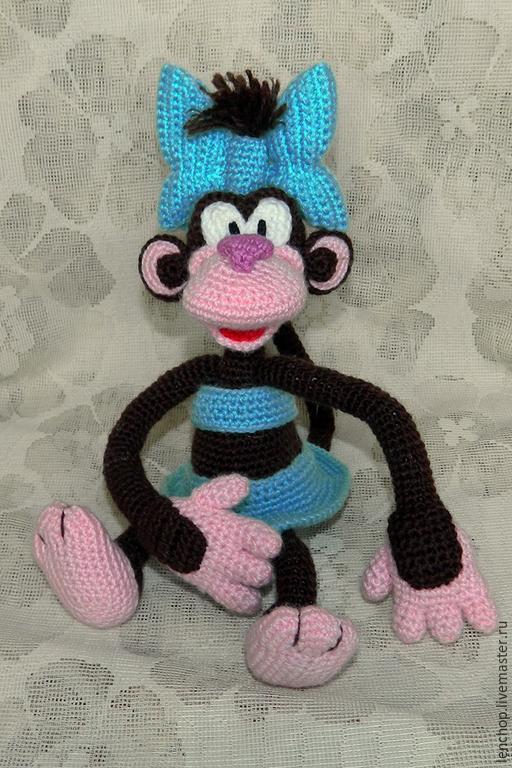Вязание крючком обезьянки мастер класс
