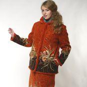 Одежда ручной работы. Ярмарка Мастеров - ручная работа Костюм теплый  Зимний праздник. Handmade.