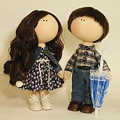 Куклы и игрушки ручной работы. Ярмарка Мастеров - ручная работа Портретные куколки. Handmade.