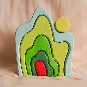 Куклы и игрушки ручной работы. Ярмарка Мастеров - ручная работа Балансир Гора. Handmade.