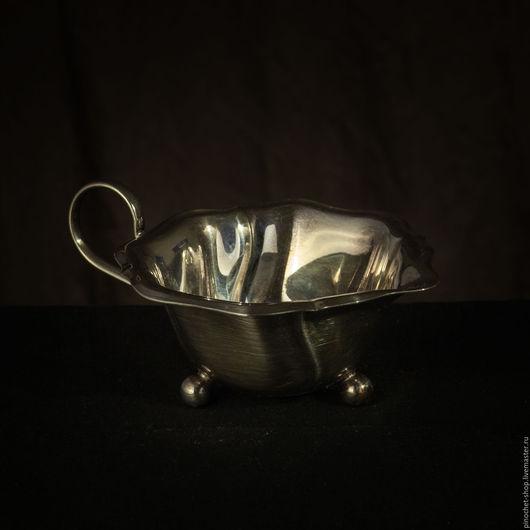 Винтажная посуда. Ярмарка Мастеров - ручная работа. Купить Соусник/ молочник. Handmade. Серебряный, винтаж, соусник, молочник, Столовое серебро