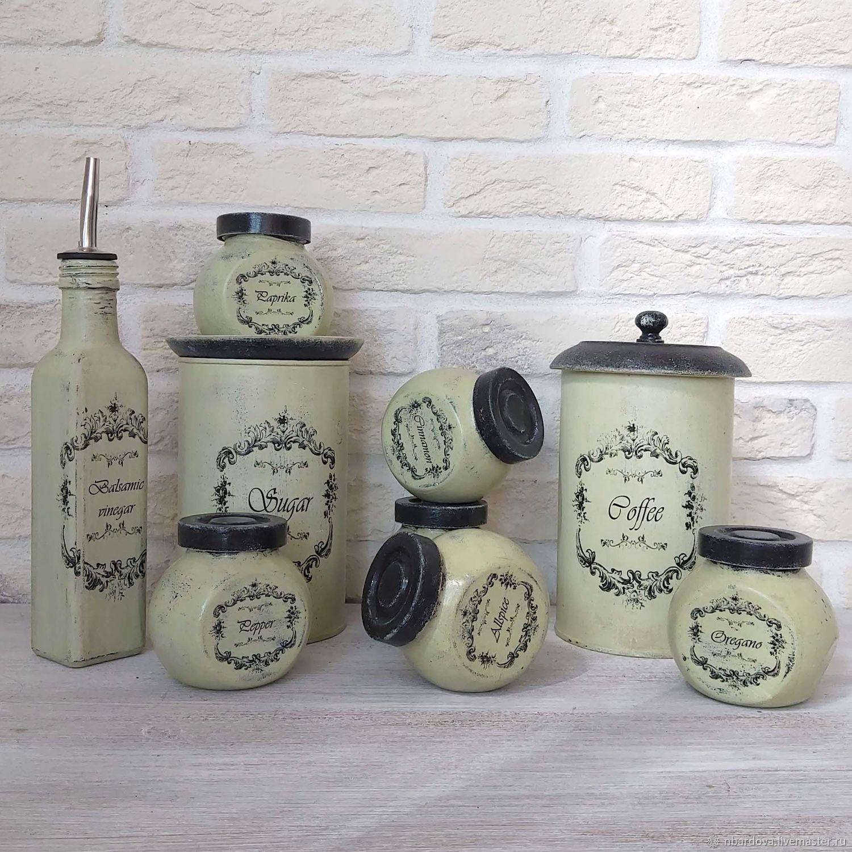 Spice Jars, Set of Jars, Gift, Storage Containers, Jars, St. Petersburg,  Фото №1
