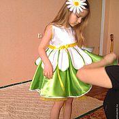 """Работы для детей, ручной работы. Ярмарка Мастеров - ручная работа Платье для девочки """" Я ромашка"""". Handmade."""