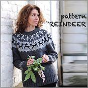 """Одежда ручной работы. Ярмарка Мастеров - ручная работа описание лопапейсы """"REINDEER"""". Handmade."""