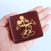 Музыкальные инструменты handmade. Livemaster - original item Mickey mouse music box with wind-up mechanism. Handmade.