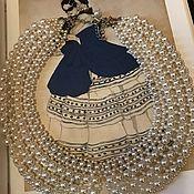 Колье ручной работы. Ярмарка Мастеров - ручная работа Ожерелье-воротничок Натали. Handmade.