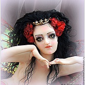 Куклы и игрушки ручной работы. Ярмарка Мастеров - ручная работа Авторская кукла Кассандра хранительница колец. Handmade.