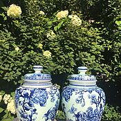 Винтаж handmade. Livemaster - original item Ginger vases