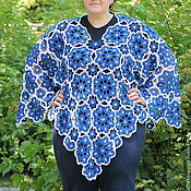 Одежда handmade. Livemaster - original item Pullover-poncho