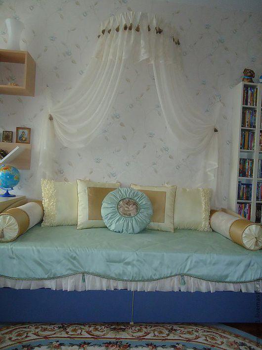 Текстиль, ковры ручной работы. Ярмарка Мастеров - ручная работа. Купить Шторы на заказ ( покрывала и подушки) все мои личные работы. Handmade.