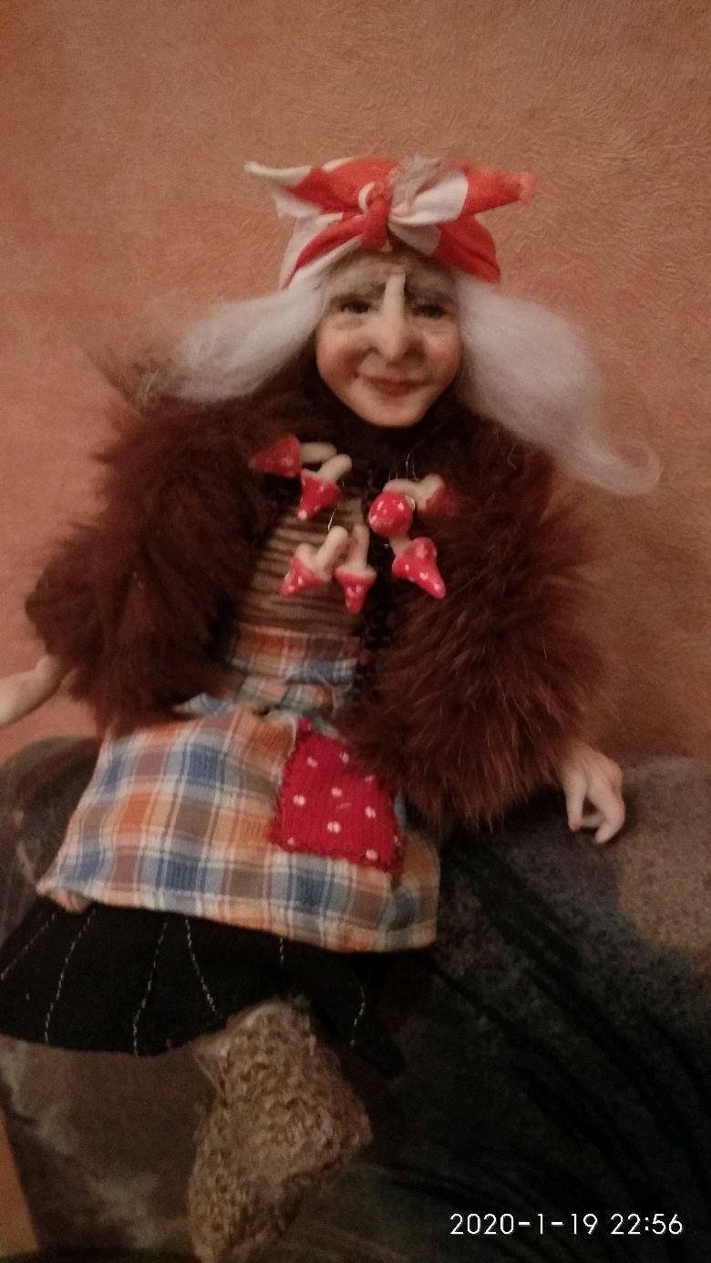 Бабка- Ежка на пне, Куклы и пупсы, Вологда,  Фото №1