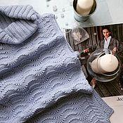"Одежда ручной работы. Ярмарка Мастеров - ручная работа Безрукавка вязаная ""Lagoon"". Handmade."