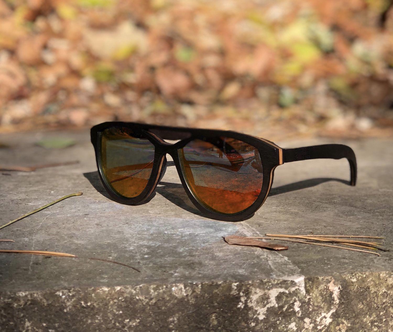 f36bc6fa5b81 Очки ручной работы. Ярмарка Мастеров - ручная работа. Купить Деревянные очки  модель VOYAGE.