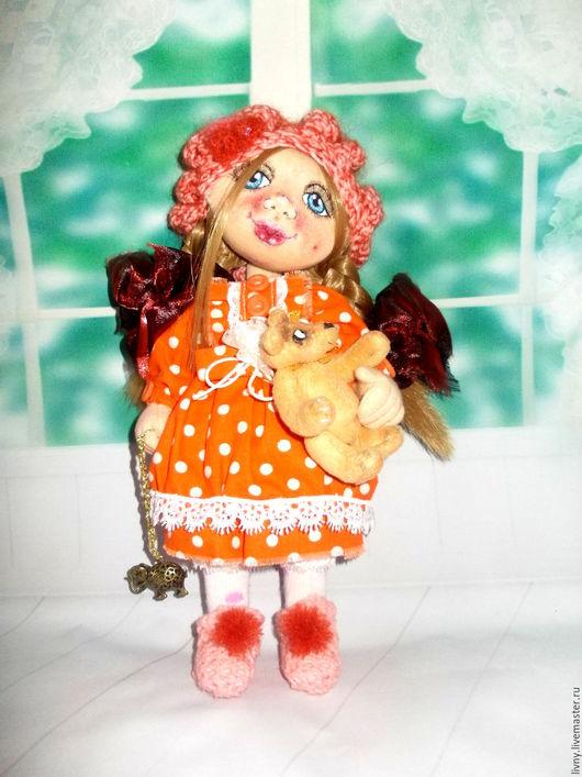 Коллекционные куклы ручной работы. Алёнка. Кукла текстильная. Кукла авторская.. Natali & ﻱНатусикиﻱ. Интернет-магазин Ярмарка Мастеров.