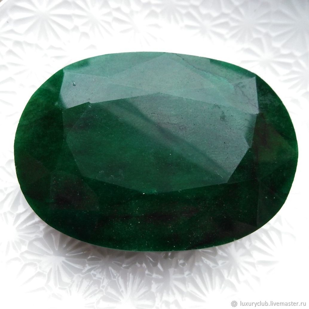 Emerald natural faceted 609 carat Exclusive !!!, Pendants, Tolyatti,  Фото №1
