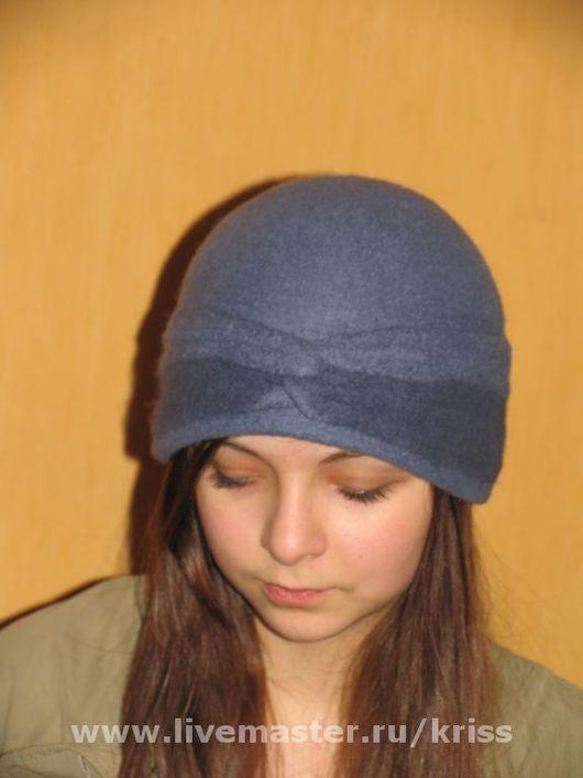 Шляпы ручной работы. Ярмарка Мастеров - ручная работа. Купить шляпка АЙСЕДОРА ДУНКАН. Handmade. Шерсть меринос