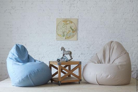 """Мебель ручной работы. Ярмарка Мастеров - ручная работа. Купить Кресло-мешок """"Латте"""" L. Handmade. Кресло-мешок"""