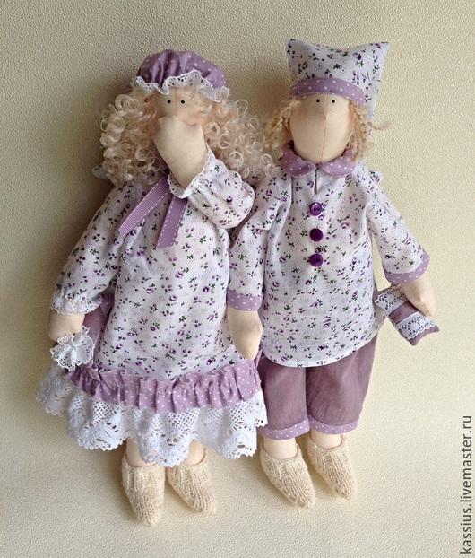 Куклы Тильды ручной работы. Ярмарка Мастеров - ручная работа. Купить Сонный ангел в стиле тильда. Handmade. Ангел сна