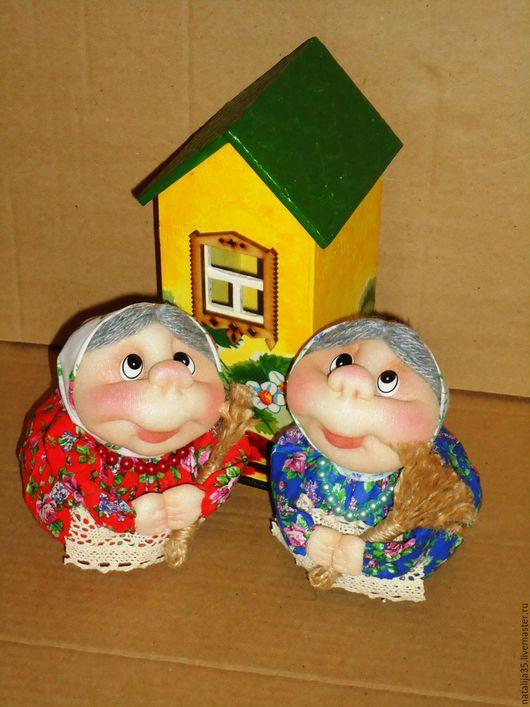 Человечки ручной работы. Ярмарка Мастеров - ручная работа. Купить Бабушка хозяюшка - благополучница. Handmade. Разноцветный, обереговая кукла, синтепон