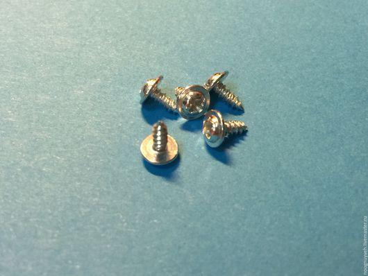 Другие виды рукоделия ручной работы. Ярмарка Мастеров - ручная работа. Купить Шуруп-саморез(100 шт.) с шайбой-головкой, 5 мм. Handmade.