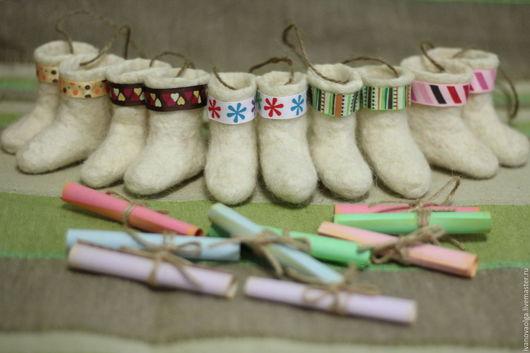 Миниатюрные модели ручной работы. Ярмарка Мастеров - ручная работа. Купить Валенки-шептуны ( мощный славянский оберег). Handmade.