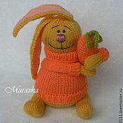 Куклы и игрушки ручной работы. Ярмарка Мастеров - ручная работа Солнечный Кролик с морковкой. Handmade.