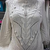 """Одежда ручной работы. Ярмарка Мастеров - ручная работа Джемпер""""Зимняя фантазия"""". Handmade."""