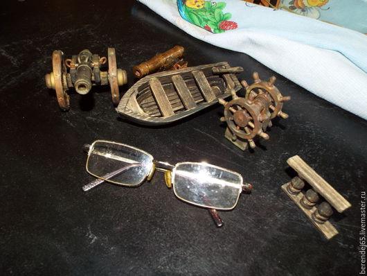 Техника ручной работы. Ярмарка Мастеров - ручная работа. Купить Мелочи для моделирования и экспозиций.... Handmade. Деревянные игрушки, макет, металл