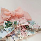 Комплекты аксессуаров ручной работы. Ярмарка Мастеров - ручная работа Повязочка из хлопка на голову для девочки. Handmade.