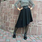 Одежда ручной работы. Ярмарка Мастеров - ручная работа юбка асимметричная. Handmade.