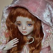Куклы и игрушки handmade. Livemaster - original item Porcelain ball jointed doll `Romantic piggy Rosie`. Handmade.