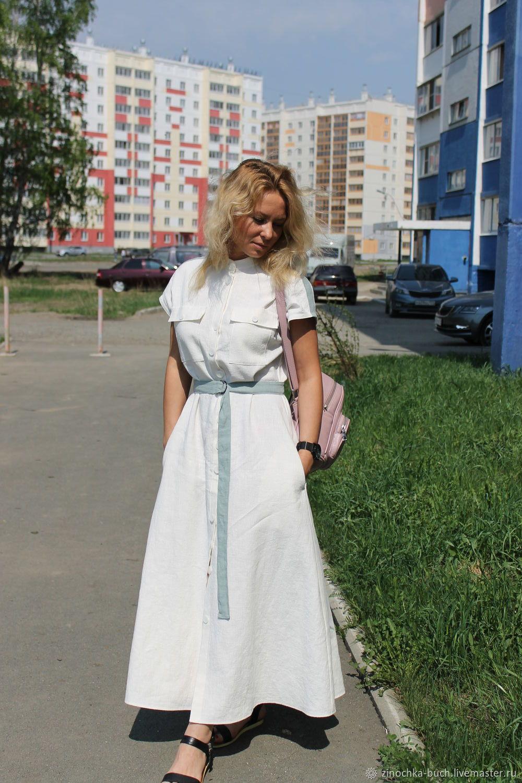 4b61c8164c7 Платья ручной работы. Ярмарка Мастеров - ручная работа. Купить Женское  длинное платье из вареной ...