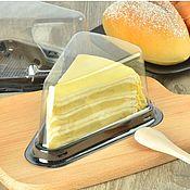 Коробки ручной работы. Ярмарка Мастеров - ручная работа Пластиковая треугольная упаковка для пирожных,мыла.. Handmade.
