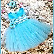 Работы для детей, ручной работы. Ярмарка Мастеров - ручная работа Нарядное детское платье Princess. Handmade.