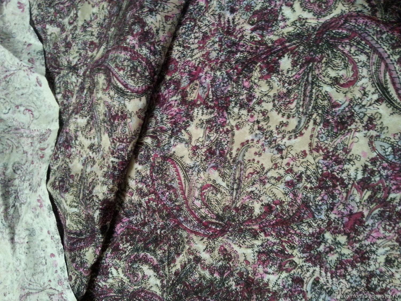 "ткань льняная ""Огурцы"" уценка, Ткани, Кострома,  Фото №1"