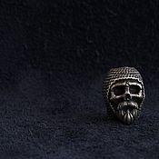 Сувениры и подарки handmade. Livemaster - original item Bead lanyard skull bead for knife. Handmade.