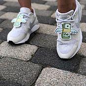 Украшения на ногу ручной работы. Ярмарка Мастеров - ручная работа Украшение для обуви. Handmade.