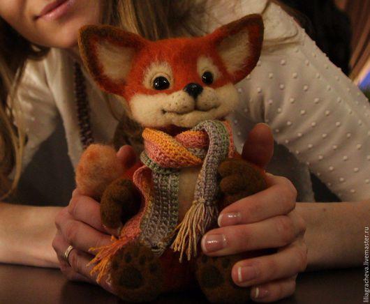 купить рыжий, лиса, лиса игрушка, лисенок, лисичка, игрушка лиса, игрушка лиса купить, мягкая игрушка лиса, лиса из шерсти, лисенок из шерсти, лисенок из войлока, лисенок валяный, лиса из шерсти, лиси