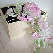 Свадебный салон handmade. Livemaster - original item Jewelry for hairstyles: a wreath on the head. Handmade.