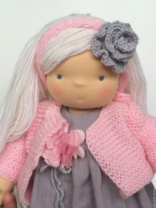 Вальдорфская игрушка ручной работы. Ярмарка Мастеров - ручная работа. Купить Кристин. Handmade. Бледно-розовый, waldorf doll, doll
