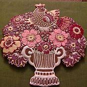 Сувениры и подарки ручной работы. Ярмарка Мастеров - ручная работа Букет с птицей. Handmade.