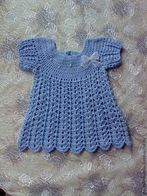 ажурное детское платье, вязаное платье, платье для малышки, ручной работы, купить платье, для новорожденной, вязание детям, на выписку, вязаное платьице, платье ручной работы, для девочки, платье