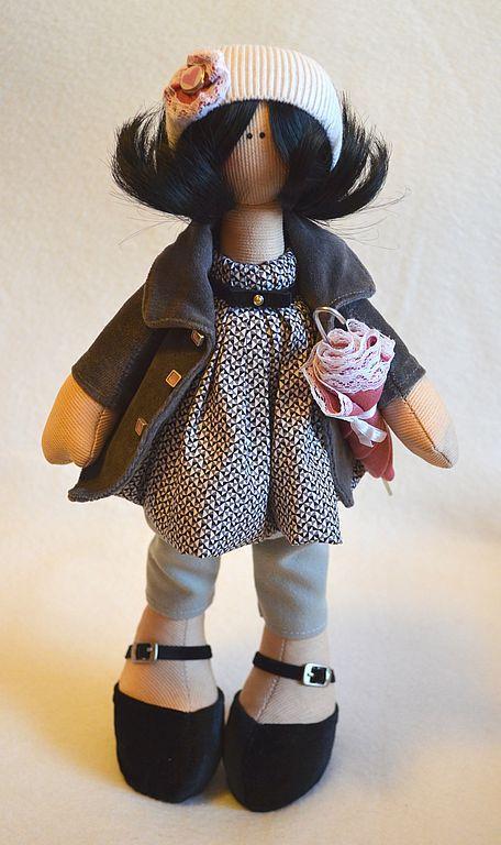 Коллекционные куклы ручной работы. Ярмарка Мастеров - ручная работа. Купить Анна. Handmade. Авторская игрушка, итальянская фурнитура