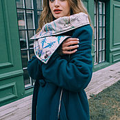 """Одежда ручной работы. Ярмарка Мастеров - ручная работа Пальто зимнее """"одеяло"""" из кашемира. Handmade."""