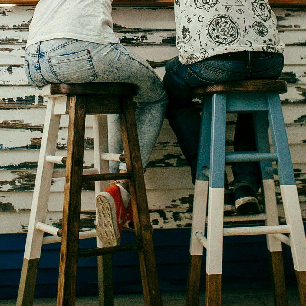 ручной работы. Ярмарка Мастеров - ручная работа. Купить Стул барный из дерева. Handmade. Мебель, стул, лофт, дерево, сосна