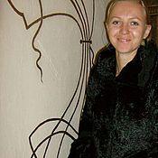 Одежда ручной работы. Ярмарка Мастеров - ручная работа Сюртук из плюша. Handmade.