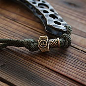 Сувениры и подарки handmade. Livemaster - original item Bead lanyard the hammer of Thor. Handmade.