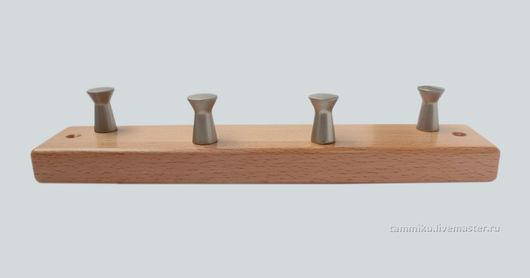 Прихожая ручной работы. Ярмарка Мастеров - ручная работа. Купить Ключница из бука. Handmade. Бежевый, ключница, дерево бук
